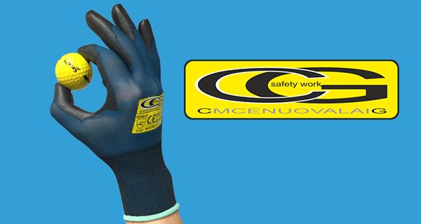 La nuova linea di guanti da lavoro professionale CG