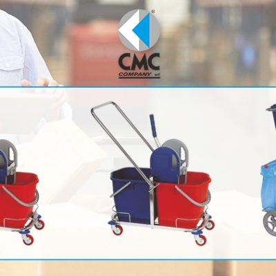 CMC COMPANY vende carrelli per pulizie professionali