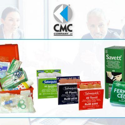 CMC COMPANY vende sistemi e prodotti per il primo soccorso