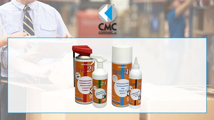 La linea di lubrificanti per biciclette C2R di CMC COMPANY