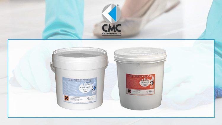 Fondenti e deghiaccianti professionali, la linea di CMC COMPANY
