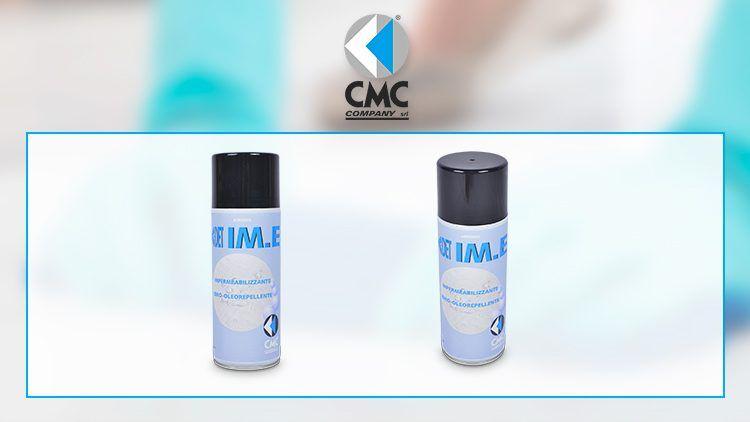 C-DET I.ME, il nuovo spray idrorepellente di CMC COMPANY