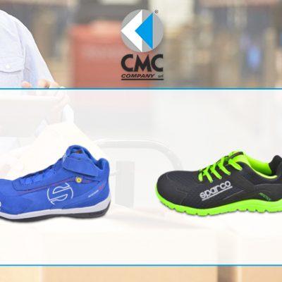 CMC COMPANY distribuisce le scarpe antinfortunistiche Sparco